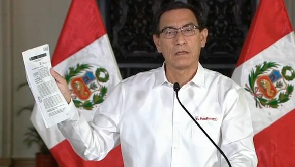 """Trends: Martín Vizcarra: """"Les digo y ratifico: No voy a renunciar""""    NOTICIAS EL BOCÓN PERÚ"""