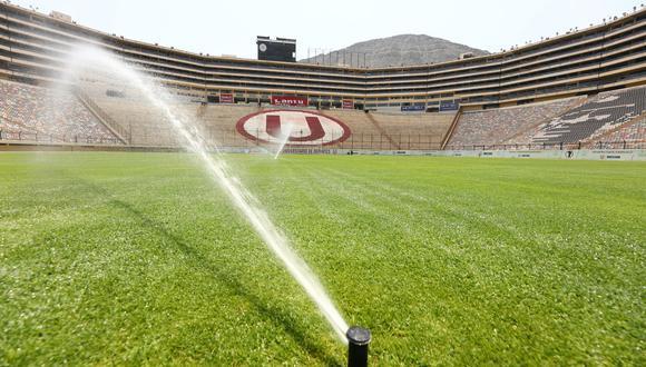 Continúa el proceso de entrega en Universitario con el Estadio Monumental. (Foto: Prensa U)