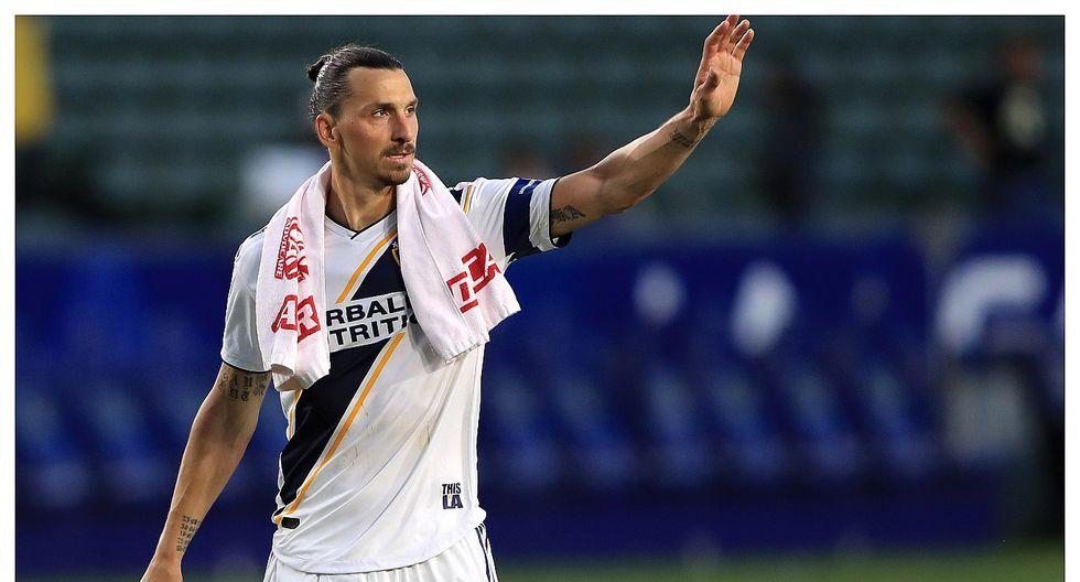 """Zlatan Ibrahimovic se despidió de LA Galaxy: """"Ahora vuelve a ver béisbol"""""""