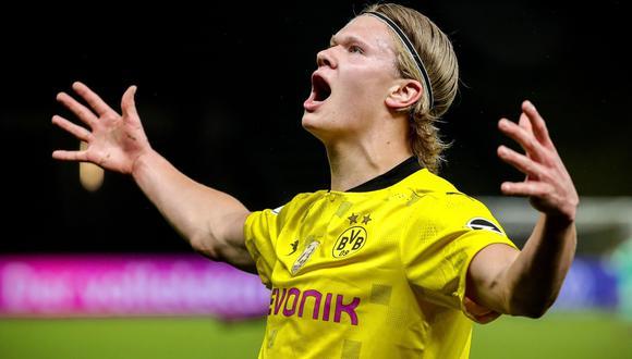Erling Haaland es jugador del Borussia Dortmund desde la temporada 2020. (Foto: Reuters)