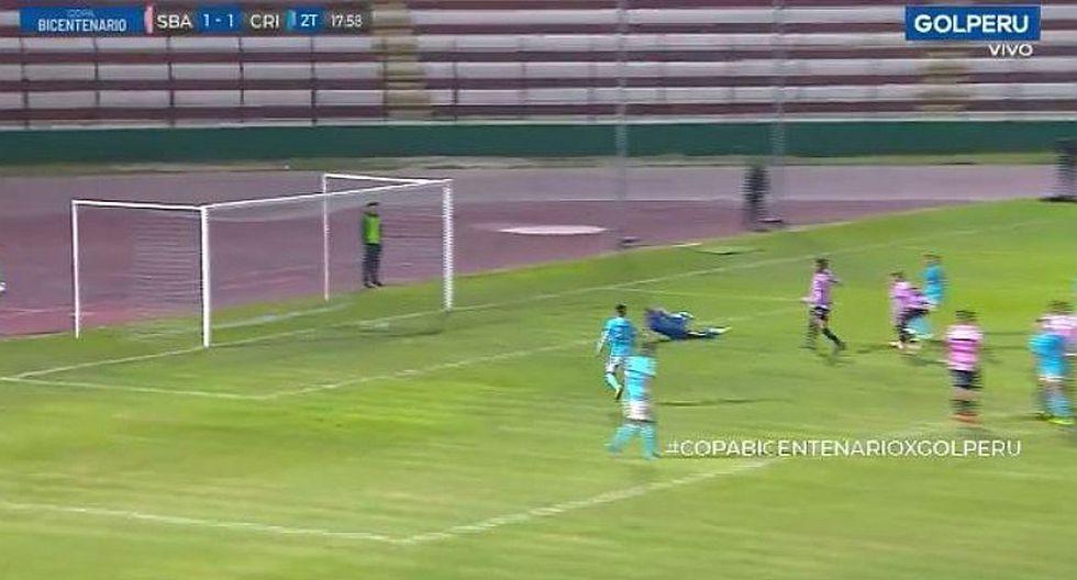 Sporting Cristal vs. Sport Boys: Gerald Távara puso el 2-1 para los celestes por la Copa Bicentenario   VIDEO