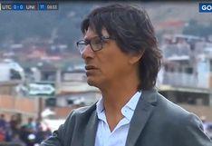Universitario vs. UTC | La reacción de Ángel Comizzo tras la expulsión de Jonathan Segura | VIDEO