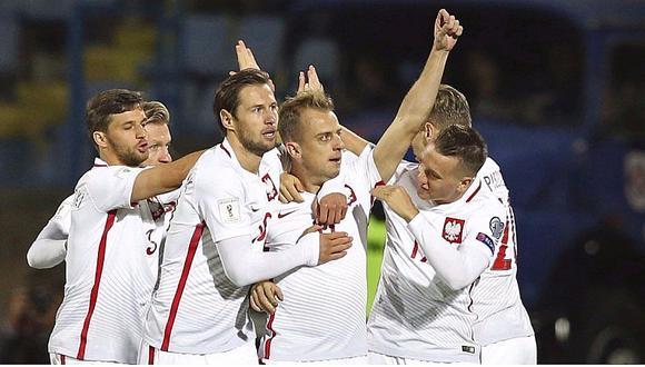 Polonia golea 6-1 a Armenia con hat-trick de Robert Lewandowski