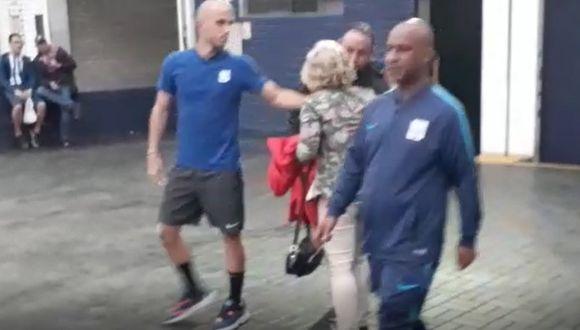 Alianza Lima | Federico Rodríguez abandonó 'Matute' acompañado de su madre | VIDEO