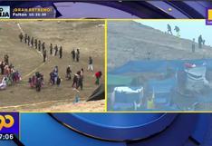 """Morro Solar: PNP señala que desalojo de invasores se produce de manera """"pacífica y voluntaria"""""""