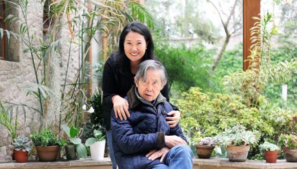 """""""Estoy a favor de un indulto a mi padre y prefiero decirlo así abiertamente, como lo dije abiertamente cuando estuve en contra"""", manifestó Keiko Fujimori. (Foto: Twitter)"""