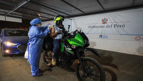 El Estadio Monumental de Ate Vitarte es uno de los 21 vacunatorios habilitados para este Vacunatón. (EsSalud)