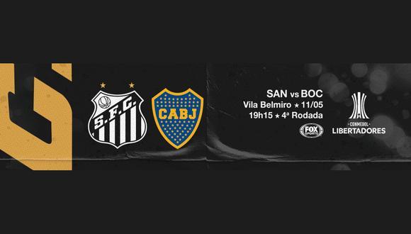 Santos recibe este martes a Boca Juniors, en vivo y en directo por la fase de grupos de la Copa Libertadores. Mira dónde y cómo ver el encuentro