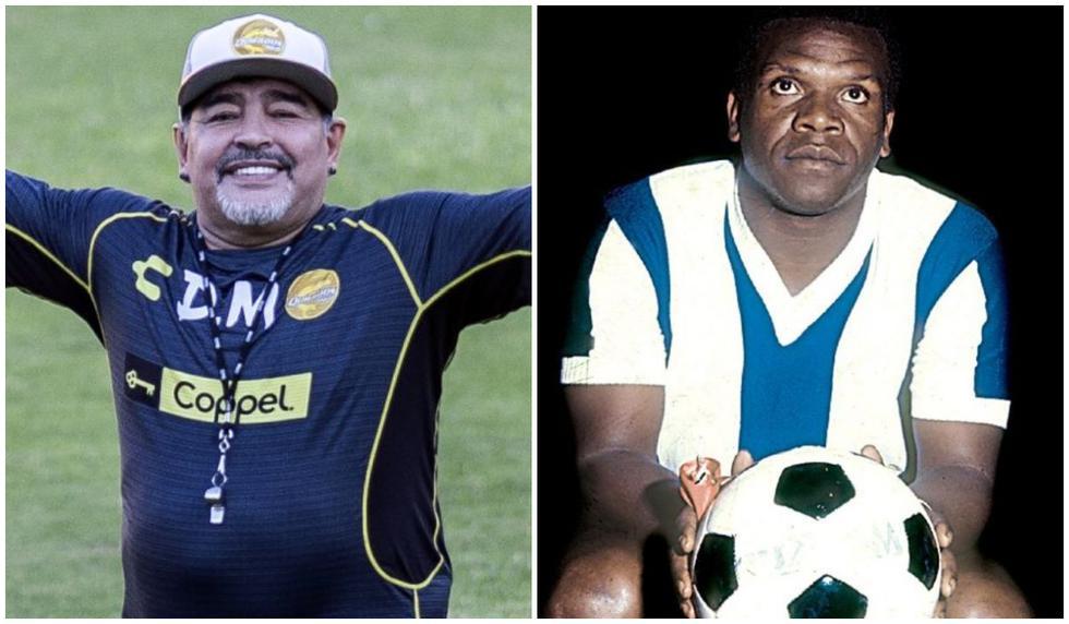 Diego Maradona y 'Perico' León fueron algunas leyendas del deporte que nos dijeron adiós este 2020. (Fotos: AFP / El Comercio)
