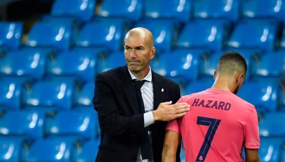 Zinedine Zidane cumple su segunda etapa como entrenador en el Real Madrid.  (Foto: AFP)
