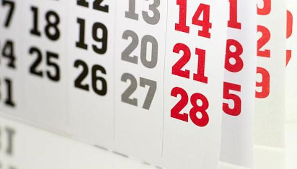 En los feriados calendario, los trabajadores, tanto del sector público como privado, no trabajan; si lo hacen, reciben una remuneración especial (Foto: Pixabay/Referencial)