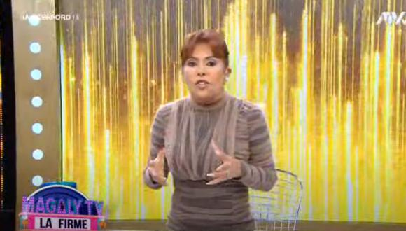 Magaly Medina comparó a Edison Flores con Andrés Wiese
