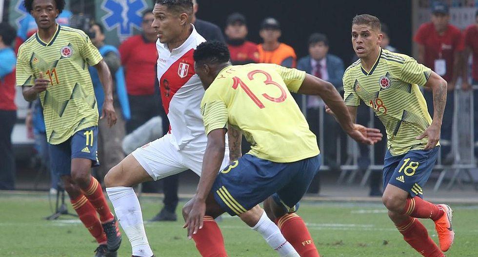 Selección peruana | Perú cayó 0-3 ante Colombia en el estadio Monumental previo a la Copa América
