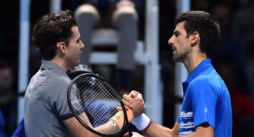 La primera final del Grand Slam entre Djokovic y Thiem moverá el ranking de la ATP. (Foto: AFP)