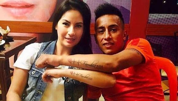 Christian Cueva fue captado en reunión y esposa del futbolista aseguró que tomaron la decisión de darse un tiempo.