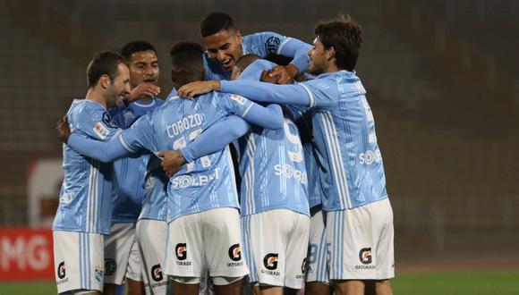 Sporting Cristal vs. Ayacucho FC: se ven las caras por la jornada 14 en el Estadio San Marcos por el Torneo Apertura 2020. (Foto: Sporting Cristal)