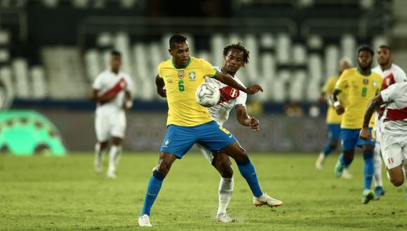 Perú y Brasil se enfrentan por el grupo B de la Copa América 2021 en el estadio Olimpico Nilton Santos de Rio de Janeiro. Sigue el MINUTO A MINUTO del partido.