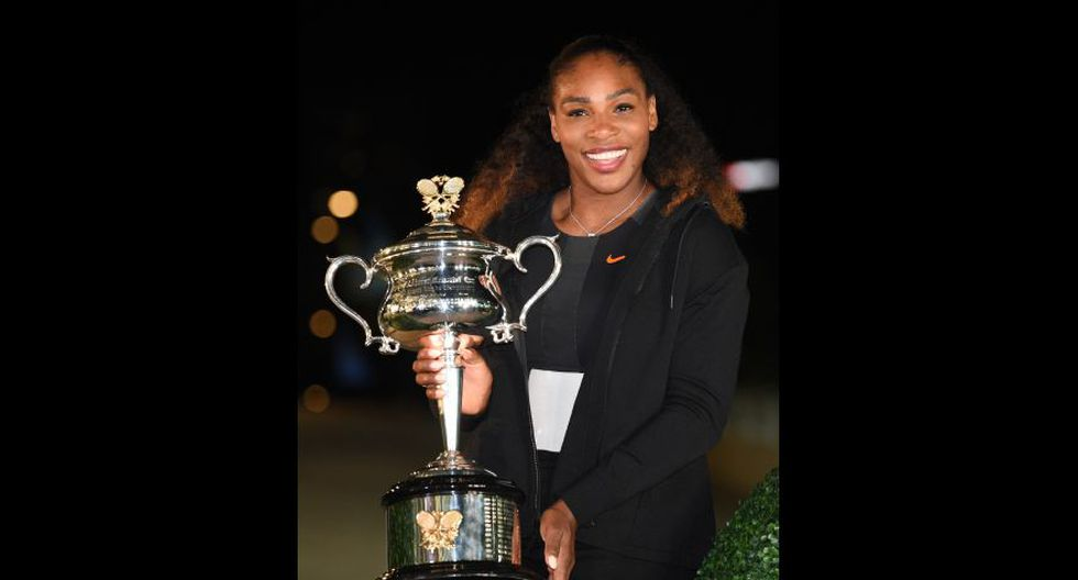 1.- Serena Williams (tenista estadounidense). (Foto: AFP)