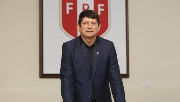 Agustín Lozano dio detalles de cómo se desarrollará la fase 1 de la Liga 1 2021. (Foto: GEC)