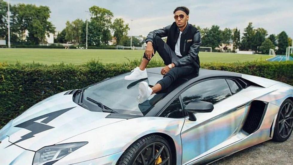 El espectacular cambio que le hizo Aubameyang a su Lamborghini   FOTOS