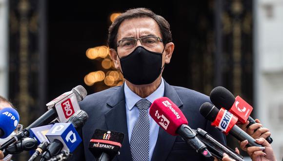 Martín Vizcarra figura en la lista de las personas que recibieron la vacuna de Sinopharm fuera de los ensayos clínicos.. (Foto: archivo AFP)