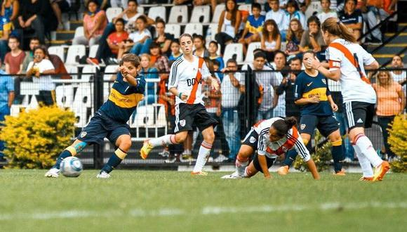 En el fútbol femenino de Argentina, River Plate y Boca Juniors se medirán en la final del campeonato con la consigna de ser las campeonas de la categoría.