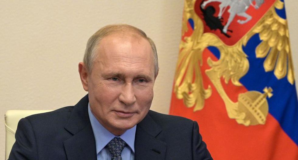 El presidente de Rusia Vladimir Putin.  (Foto: Alexei Druzhinin / SPUTNIK / AFP).