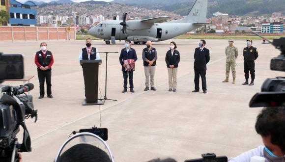 El jefe de Estado visitó este jueves la región de Cusco. (Fotos: Juan Sequeiros / @photo.gec)