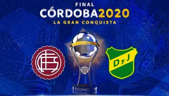Conoce cómo y dónde podrás ver en vivo Lanús - Defensa y Justicia por la final de la Copa Sudamericana 2020.