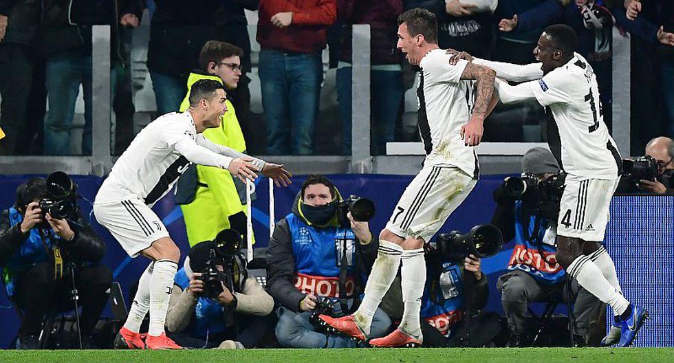 Juventus ganó 1-0 a Valencia con Cristiano y Mandzukic como figuras