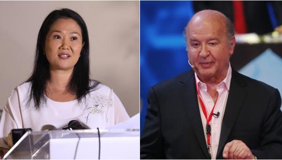 Hernando de Soto anunció que decidió darle su voto a Keiko Fujimori, lideresa de Fuerza Popular.
