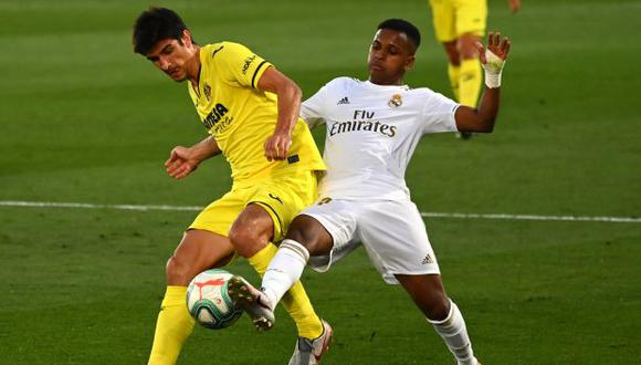 Real Madrid vs. Villarreal: se miden por la jornada 10 de LaLiga Santander. (Foto: AFP)