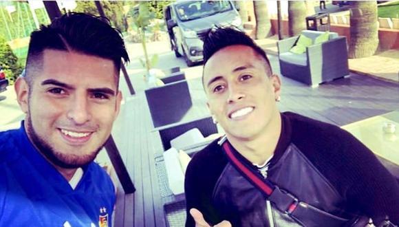 Zambrano y Cueva son habituales convocados a la selección peruana. (Foto: Instagram Carlos Zambrano)