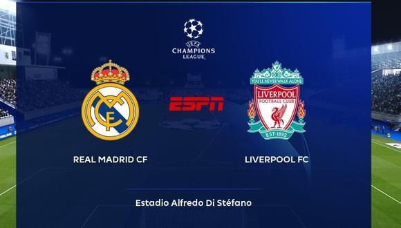 Real Madrid y Liverpool en vivo y en directo por la ida de los cuartos de final de la Champions League.