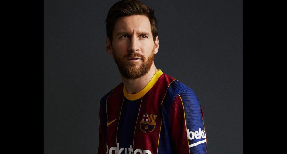 La nueva camiseta del FC Barcelona para la temporada 2020-21. (Foto: FC Barcelona)
