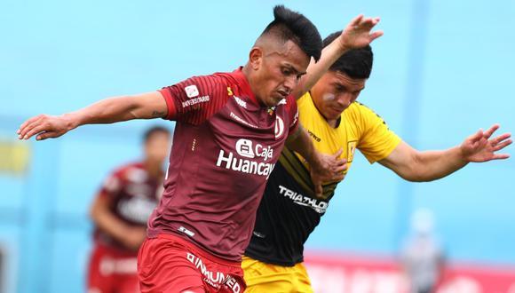 Universitario tuvo un partido difícil ante Cantolao y empató 2-2 en el estadio Alberto Gallardo.