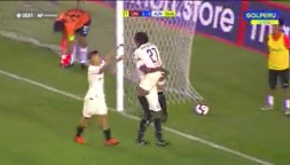 Universitario se adelantó ante A. Universidad con gol de Gary Correa   VIDEO