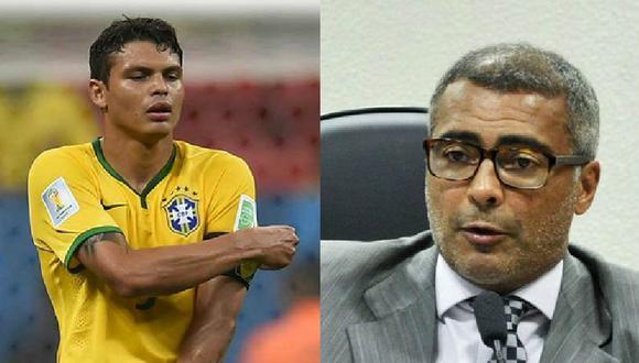 Selección de Brasil: Romario critica a Thiago Silva