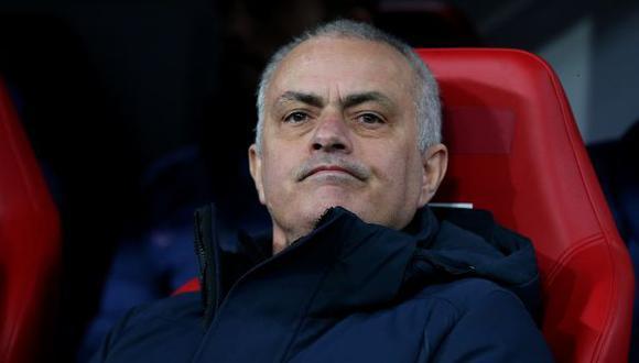 José Mourinho es entrenador de Tottenham desde  noviembre del 2019. (Foto: AFP)