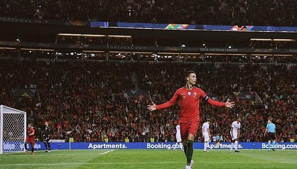 Cristiano Ronaldo y todas las marcas que alcanzó tras Hat-Trick en la Nations League