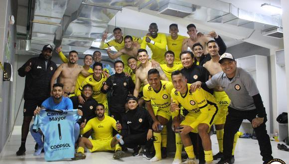 Coopsol derrotó y eliminó por segunda vez a Universitario de la Copa Bicentenario. (Foto: Coopsol)