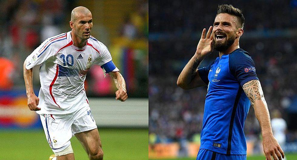 Oliver Giroud igualó récord de Zidane en amistoso ante Irlanda