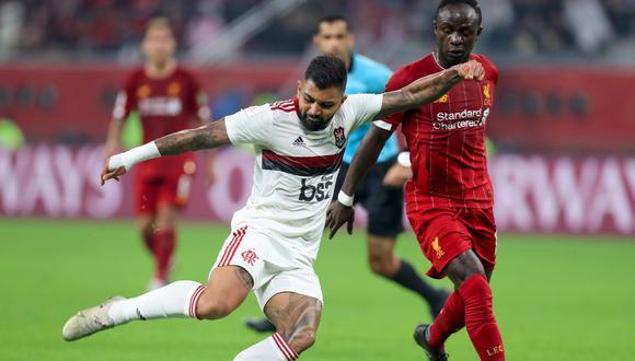 Gabriel Barbosa no logró marcar goles en el Mundial de Clubes 2019 | Foto: AFP
