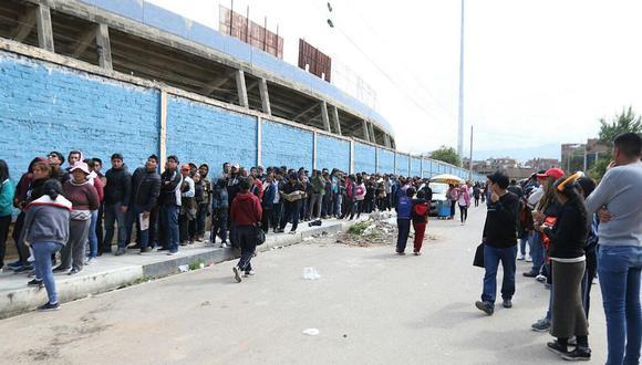 Universitario de Deportes   Sport Huancayo anuncia el inicio de la venta de entradas para choque de mañana   FOTO