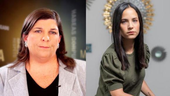 Sigrid Bazán defendió su proyecto de ley y Rosa María Palacios respondió a la congresista.