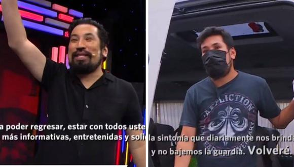Aldo Miyashiro dio positivo a COVID-19. (Foto: Captura América TV)
