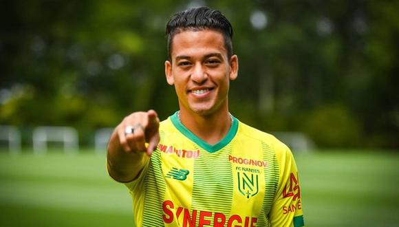 Cristian Benavente convocado para duelo entre Nantes y Angers por la Ligue 1
