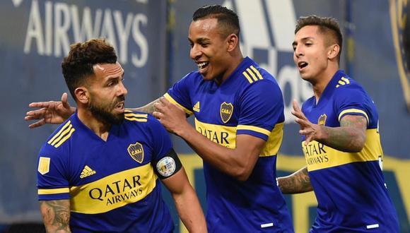 Boca Juniors clasificó a la siguiente fase de la Copa de la Liga tras vencer por penales a River Plate. FOTO: Twitter
