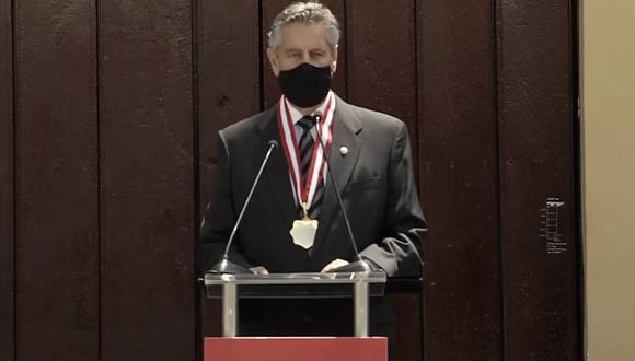 El mandatario participó de la ceremonia de conmemoración del Bicentenario de la Expedición Libertadora en Huaura. (Foto: Presidencia)