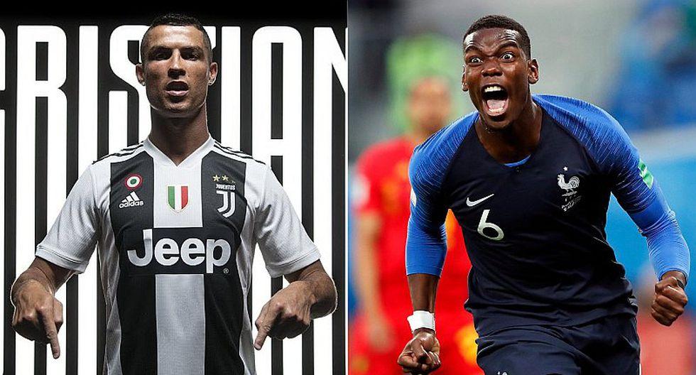 Paul Pogba dejaría el United para jugar con Cristiano Ronaldo en la Juventus